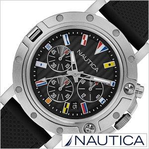 【超お買い得!】 送料無料 ノーティカ 腕時計 NAUTICA時計 ( NAUTICA 腕時計 ノーティカ 時計 ) クロノ フラッグス ( NST800 CHERONO FLAGS ) 腕時計 ブラック NAD17527G [正規品 人気 新作 流行 ブランド 防水 スポーツ アウトドア シリコン ギフト プレゼント ホワイト シルバー], シムススタイル 99390e42