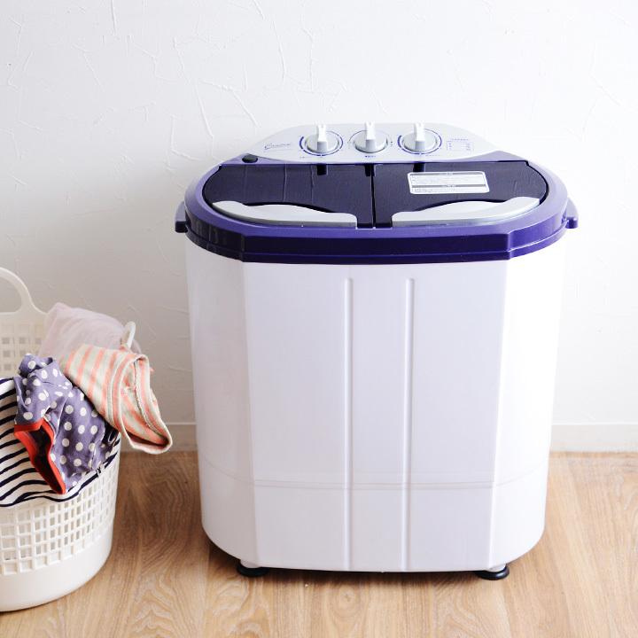 マイセカンドランドリーハイパー/2槽式小型洗濯機【送料無料】