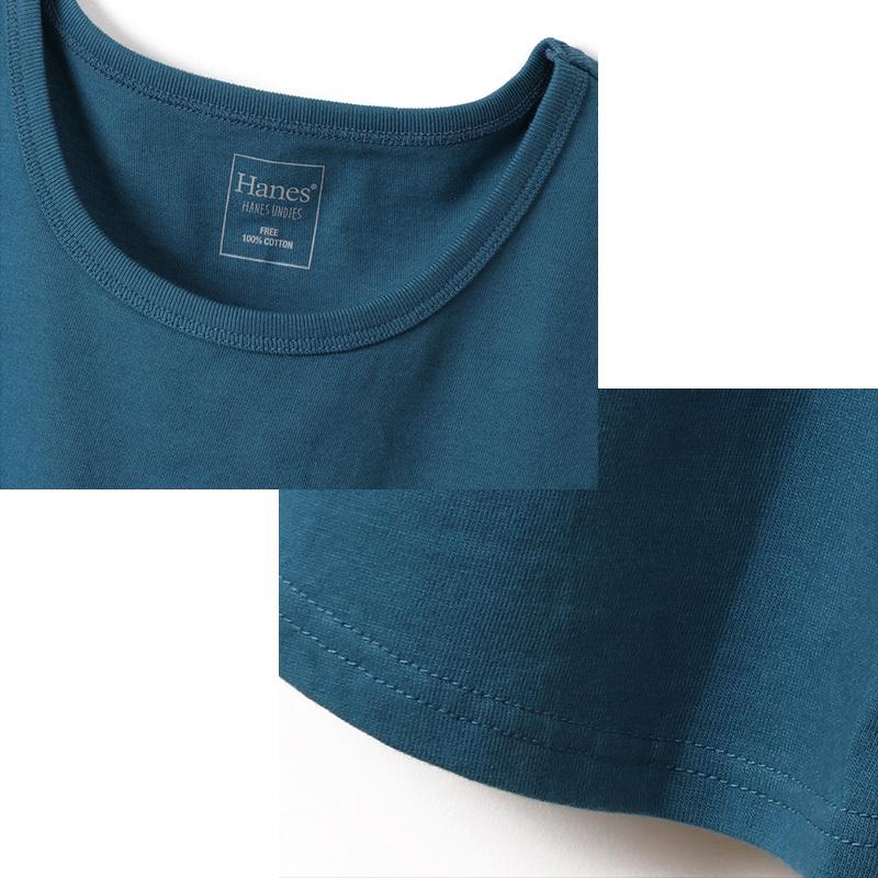 ヘインズ Undies スリーブレスTシャツ フリーサイズ(M-L)  (Hanes 婦人 インナー 下着 タンクトップ 綿100% コットン) 【在庫限り】