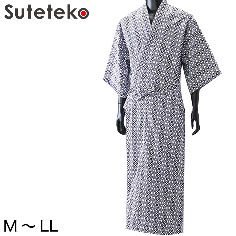竹 紳士ガーゼねまき M~LL  (健康ねまき) (介護肌着) 【取寄せ】