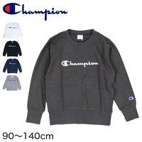 518b0a16a9f7c0 チャンピオン キッズ プリントスウェット 90cm~140cm (Champion トレーナー 綿100% .