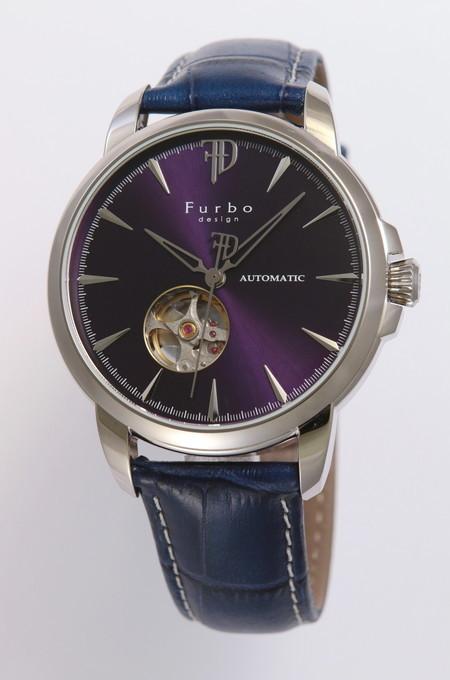 ad7e3e245b フルボデザイン 腕時計 ウォッチ メンズ Furbo design 日本製自動巻き 機械式時計 スケルトン クリスマス プレゼント 誕生日 ギフト  かっこいい セクシー ラッピング ...