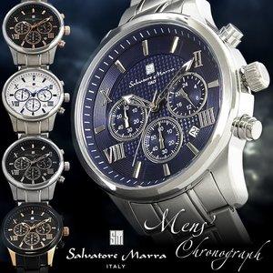 f533f50a749419 【送料無料】サルバトーレマーラ クロノグラフ メンズ腕時計 ... HAPIAN【ポンパレモール】
