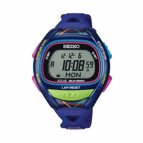66615cbf20 国内正規品 プロスペックス セイコー スーパーランナーズ ソーラー 腕時計 SBEF021 メンズ SEIKO PROSPEX ランニングウォッチ SUPER  RUNNERS ブルー ピンク グリーン ...