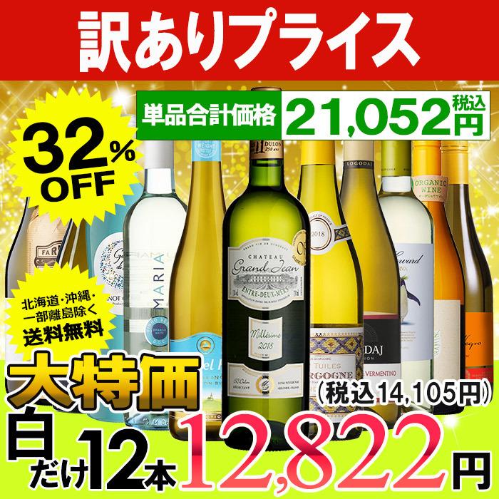 白ワイン 12本セット