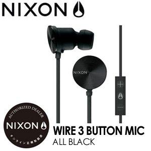 【500円引きクーポン】 NIXON,ニクソン,ヘッドフォン,イヤホン●Wire3-ButtonMic-All-Black, スポーツマリオ:b68e588b --- pyme.pe