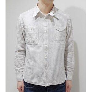【国内配送】 CUSHMAN クッシュマン 長袖|シャンブレー|チンストラップ|ワークシャツ『CHAMBRAY STRIPE WORK SHIRT』 WORK【アメカジ クッシュマン・ワーク CUSHMAN】25603(Long Sleeve Shirt) BIG YANK, 照明ライト イルミっ子:e79a68c1 --- lbmg.org