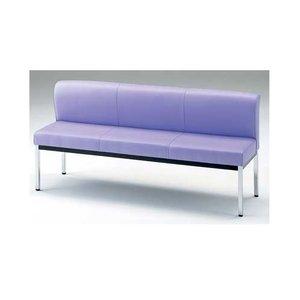 超特価SALE開催! 【送料無料】 YS-140長椅子 背付 150型 ブラック 151×53×H86cm、座高(SH)38.5cm, 天塩町 20abd91f