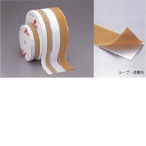 格安新品  ベルクロ・ループ(メス) 接着性 ホワイト ホワイト 2.5cm×25m 接着性 ベルクロ・フックを本体に接着、ループで身体に固定。, クレールオンラインショップ:7cb93e42 --- clubsea.rcit.by