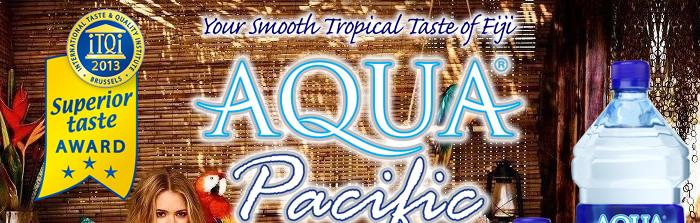 AQUA Pacific フィジーのミネラルウォーター