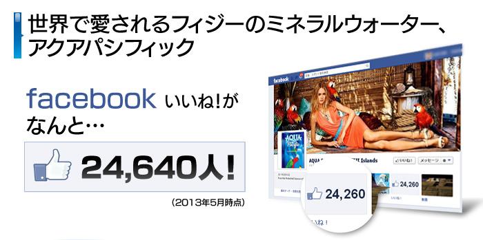 facebookいいね!がなんと24.640人