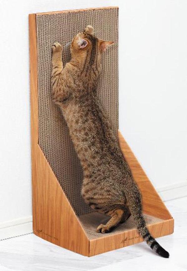【爪とぎ猫つめとぎおもちゃ段ボールダンボールお手入れガリガリウォールSKインテリアエイムクリエイツ】