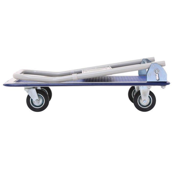 【スチール台車台車折りたたみキャスターキャリーカート軽量 スチール台車耐荷重150kg】