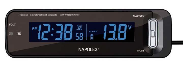 ボルテージメータークロック時計ナポレックスボルテージメータークロック時計時計ボルテージメータークロックボルテージメータークロックナポレックス