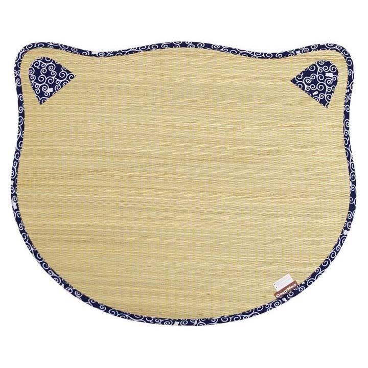 ペットマットひんやり猫ペットひんやりひんやりペットござにゃん唐草にゃんこドギーマンハヤシ