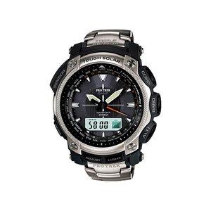 品質満点 カシオ チタン CASIO プロトレック アナデジ 電波ソーラー 電波ソーラー プロトレック チタン 腕時計 PRW-5050T-7JF, ケンユー アウトレット:79fe88be --- affiliatehacking.eu.org