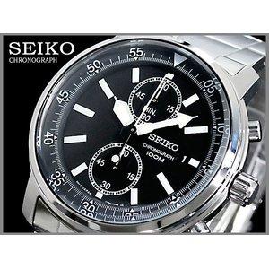【初回限定】 セイコー SEIKO クロノグラフ 腕時計+ベルトセット 腕時計+ベルトセット ブラック ブラック クロノグラフ SNN223P1-BK, 三重県鈴鹿市からお届け 谷川屋:04bbf047 --- fukuoka-heisei.gr.jp
