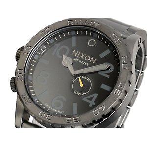 店舗良い ニクソン NIXON 51-30 腕時計 A057-680 ALL GUNMETAL BLACK, 仏壇仏具の江原佛具店 総本店 89e2df74