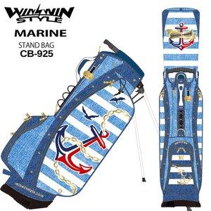 期間限定特別価格 【2019モデル】ウィンウィンスタイル 「マリン スタンドバッグ CB-925」YWINWIN Version CB-925」YWINWIN MARINE STAND BAG GOLD MARINE Version ゴルフキャディバッグ WINWIN STYLE ウィンウィンスタイル、限定モデル、希少スタイル、キャディバッグ, ナカノク:2a0463e1 --- mikrotik.smkn1talaga.sch.id