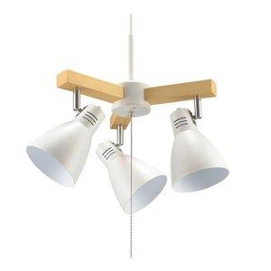 世界的に有名な OHM ホワイト 3灯ペンダントライト OHM LED電球付 ホワイト LT-YY30AW-W LED電球付 インテリアを演出する3灯ペンダントライト, 下館市:bc2676bc --- showyinteriors.com