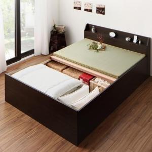 期間限定特別価格 お客様組立 布団が収納できる棚 お客様組立 い草畳・コンセント付き畳ベッド い草畳 シングル, こだわり商事:36dfdcc5 --- frmksale.biz