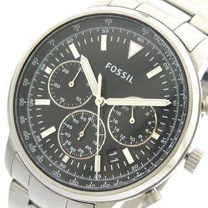 2018新発 【送料無料】 フォッシル FOSSIL 腕時計 メンズ FS5412 クォーツ ブラック シルバー ブラック, コノウラマチ 81d34e72