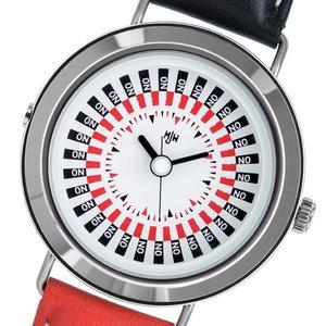 【オンライン限定商品】 【送料無料】 ピーオーエス POS ミスタージョーンズウォッチ The Decider クオーツ メンズ 腕時計 MJW020001 ホワイト ホワイト, 富田林市 40d9c8d0