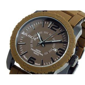 夏セール開催中 MAX80%OFF! 【送料無料】 アバランチ AVALANCHE 腕時計 腕時計 AV-1024-BRBK AVALANCHE AV-1024-BRBK ブラウン×ブラック ブラック, エムズカンパニー:f561ff29 --- blog.buypower.ng
