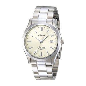【新品、本物、当店在庫だから安心】 【送料無料】 オレオール AUREOLE 腕時計 メンズ 国内正規 SW-409M-3 メンズ SW-409M-3 クォーツ 腕時計 シャンパンゴールド シルバー, SIS_JAPAN1:e6ec4258 --- regional.innorec.de