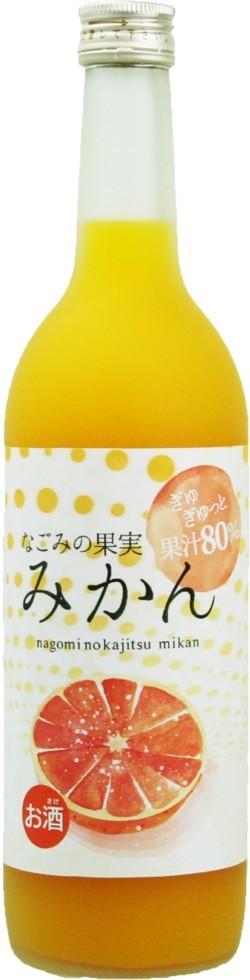 菊水酒造 なごみの果実 みかん720ml