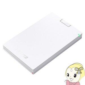 HD PCG500U3 WA バッファローUSB3 1 Gen1 USB3 0 用ポータブルHDD 500GB ホワイト