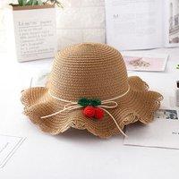 a5505f076f2c3 麦わら帽子 キッズ用 子供用 子ども用 日焼け止め ハット ぼうし ビーチハット UVカット 紫外線対策 つば広.