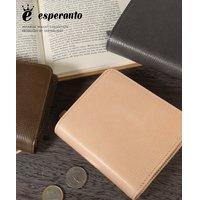 3ce3790e3609 (エスペラント) esperanto ロディ 型押し二つ折り財布