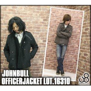 【保存版】 JOHNBULL(ジョンブル)ナポレオン風メルトンピーコートジャケット(ブルゾン・16310)(メンズアウター)/送料無料 上質で柔らかいメルトンの重圧感。上品な素材感と遊び心が詰まったジョンブルらしい一着。, スケールメリットクラブ:e0094592 --- extremeti.com