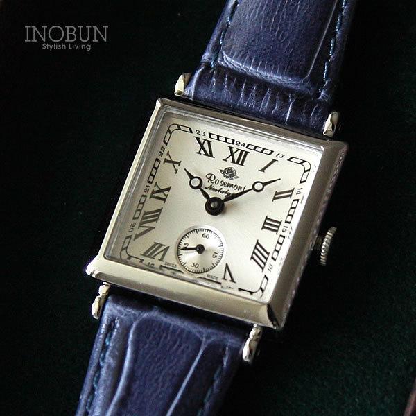ロゼモン 腕時計 Nostalgia Rosemont N011-SWR EBU