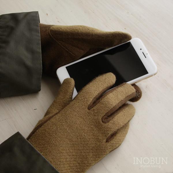 Whim グローブ Harris Tweed ハリス・ツイード スマホ対応 手袋