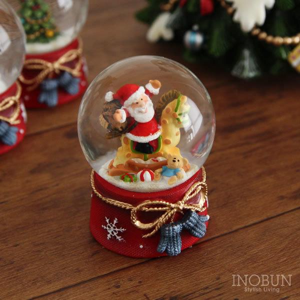クリスマス スノードーム Sサイズ サンタ