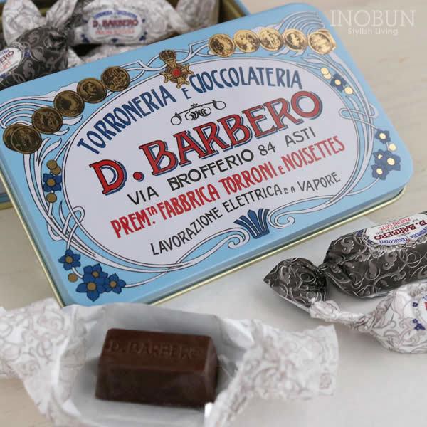 バルベロ D.BARBERO クリームチョコレートアソートメント缶 チョコレート ギフト