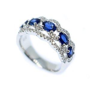 最高 【限定1本】【12.5号】K18WG サファイア デザインリング K18 K18WG サファイア ダイヤ リング 指輪 ギフト プレゼント, tuyet voi:c6f4693a --- eva-dent.ru