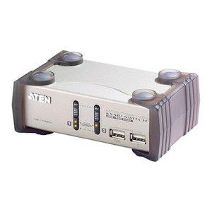 注目ブランド ATEN CS1732A KVMP TM上 スイッチ 2ポート/USB/VGA/オーディオ/USB2.0ハブ2ポート, 酒食処  寺津屋 8ad25e75