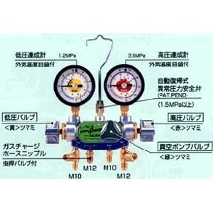 見事な デンゲン(DENGEN)[CP-MG313N-DX] マニホールドゲージ3バルブ方式【カーエアコン修理機器】 CPMG313NDX, コトナミチョウ c0b8f8c1