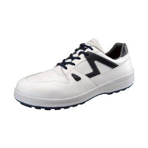 新品同様 シモン[8611 シロ/ブル-240] JIS安全靴 8611シロ/ブル240, ギノザソン 84c7c09e