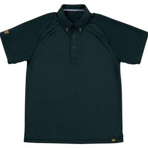 送料無料 ZETT ゼット ポロシャツ(ポケット無し) [カラー:ブラック] [サイズ:S] #BOT81-1900