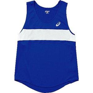 送料無料 ASICS アシックス 陸上競技用 M'Sランニングシャツ XT1035 [カラー:ブルー] [サイズ:XO] #XT1035