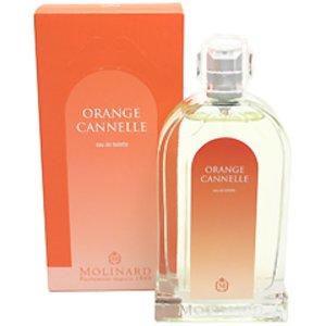 送料無料 香水 フレグランス MOLINARD モリナール オレンジ カネル オードトワレ スプレータイプ 100ml MOLINARD ORANGE CANNELLE