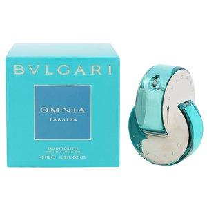 送料無料 香水 フレグランス BVLGARI ブルガリ オムニア パライバ オーデトワレ スプレータイプ 40ml OMNIA PARAIBA