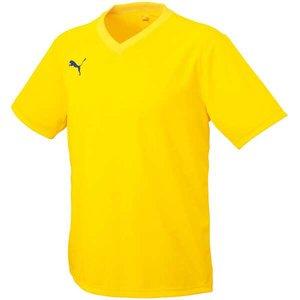 送料無料 PUMA プーマ ワンポイント半袖ゲームシャツ [カラー:レモンイエロー] [サイズ:XO] #903291-05