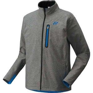 dacc2f1f55fb 送料無料 YONEX ヨネックス ポンパレモール UNI ウォームアップシャツ(フィットスタイル) [カラー:グレー] ファイパーレ セール  [サイズ:M] #51018-010 UNI ウォーム ...