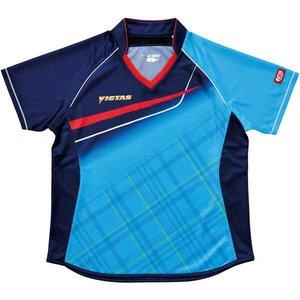 e81a149cb80 送料無料 VICTAS ファイパーレ ヴィクタス 卓球アパレル セール V-LS037 Viscotecs ゲームシャツ(女子用) [カラー:ブルー]  ポンパレ [サイズ:M] #031460-0120 卓球 ...