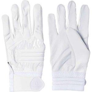送料無料 ADIDAS アディダス adidas Baseball 5T バッティンググローブ [サイズ:O] [カラー:ホワイト×ホワイト] #DMU57-BQ7092